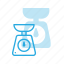 counter, kitchen, scale, weight icon