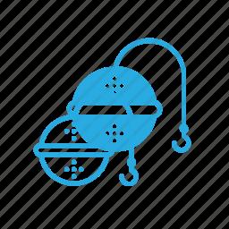 filter, kitchen, sieve, tea icon