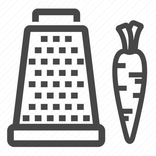 cook, grater, kitchen icon