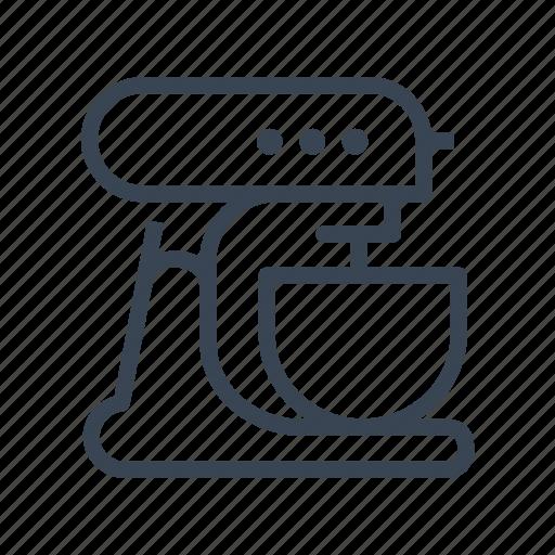 appliance, kitchen, machine, mixer, processor, robot icon