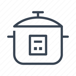 appliance, cooker, cooking, kitchen, pressure, rice icon