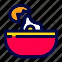 bowl, cooking, egg, food, kitchen