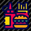 cooking, fast, food, kitchen, restaurant