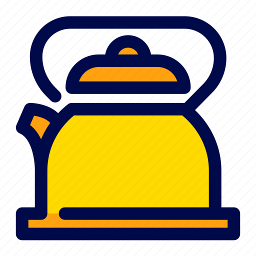 Cooking, kettle, kitchen, tea, teapot icon - Download on Iconfinder