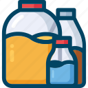 bottles, conservation, food, jar, kitchen icon
