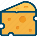 cheese, eat, food icon