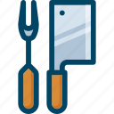 chef, chopper, cook, kitchen, knife, utensil icon