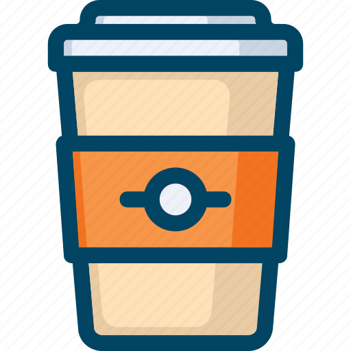 beverage, coffee, cup, drink, hot, to go icon