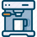 appliance, coffee, drink, kitchen, machine, maker icon