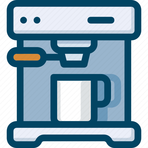 Appliance, coffee, drink, kitchen, machine, maker icon - Download on Iconfinder