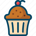 bakery, cake, cupcake, food, sweet icon