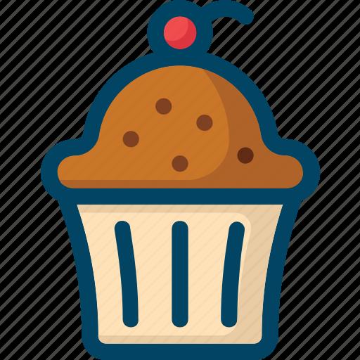 bakery, cake, cupcake, food, sweet icon