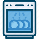 appliance, dish, dishwasher, kitchen, washer icon