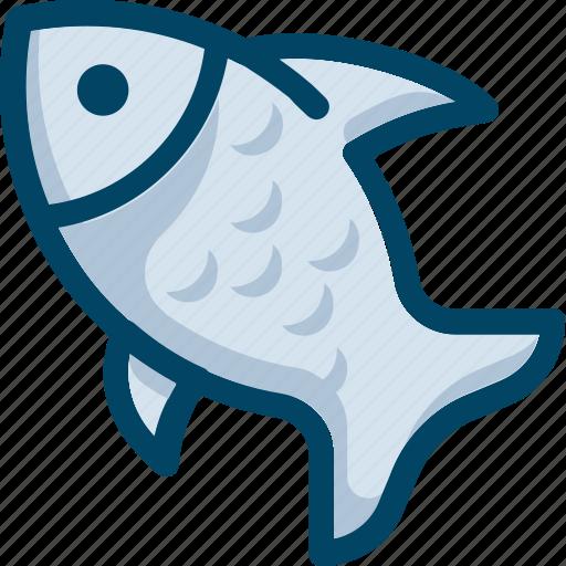 cook, eat, fish, food, sea icon