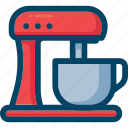 appliance, cook, food, kitchen, mixer, processor icon