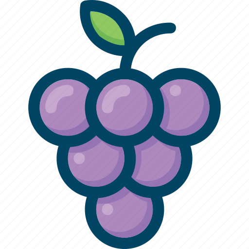 berry, eat, food, fruit, grapes icon