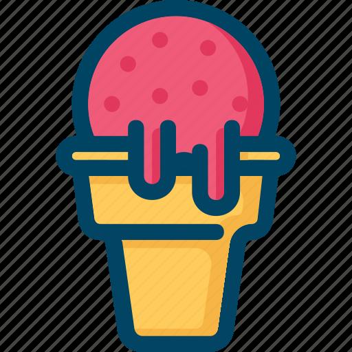 cold, cream, food, ice, sweet icon