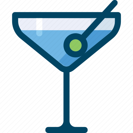 alcohol, beverage, cocktail, drink, martini, party icon