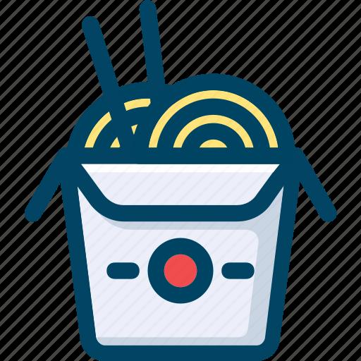 box, fast, food, japan, noodles, oriental, street icon
