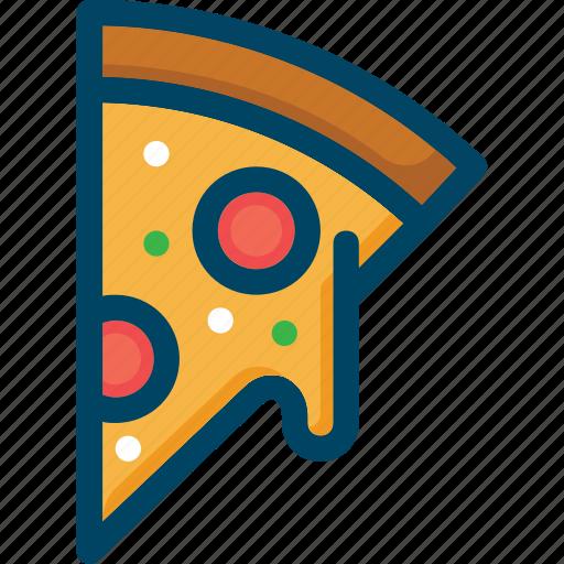 cheese, food, italian, pizza, restaurant icon