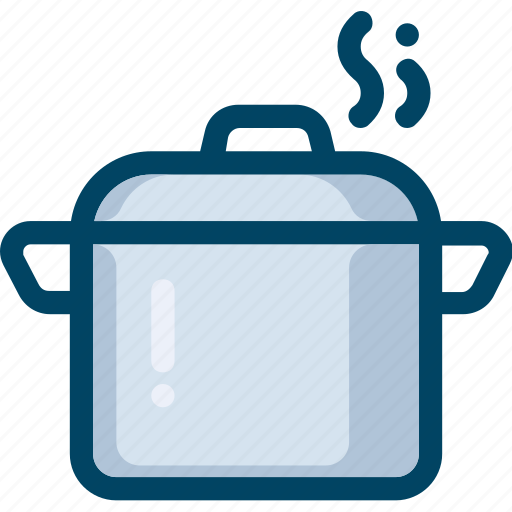Cooking, food, hot, kitchen, pot icon - Download on Iconfinder