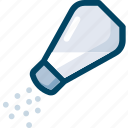 cooking, food, salt, seasoning icon