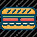 burger, eat, food, sandwich