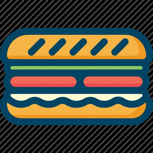 burger, eat, food, sandwich icon