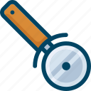 cutter, food, pizza, slicer icon