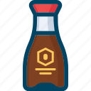 oriental, sauce, soy, sushi icon