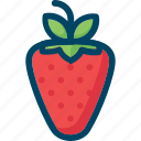berry, eat, food, red, strawberry icon
