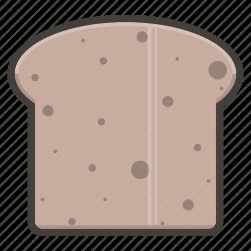 bread, breakfast, food, slice icon
