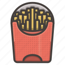 fast, fastfood, food, french, fries icon