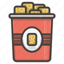 food, nachos, snack, snacks icon
