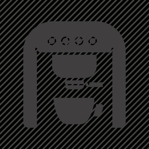appliance, coffee, coffeemaker, electric, espresso, machine, maker icon