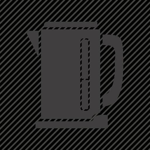 appliance, boiling, electric, kettle, kitchenware, teakettle, teapot icon