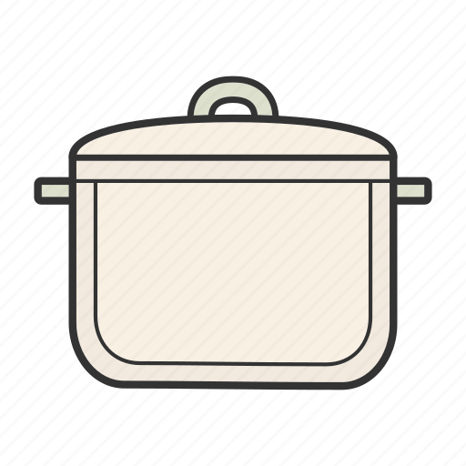 boil, casserole, cooker, pan, pot, saucepan, stewpan icon
