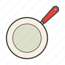 frying pan, pan-fry, saute, skillet, teflon icon