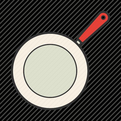 frying pan, pan-fry, saute, skillet, teflon icon
