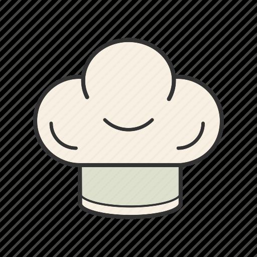 cap, chef, cook hat, headwear, toque icon