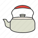 classic, kettle, pot, tea, teakettle, teapot icon