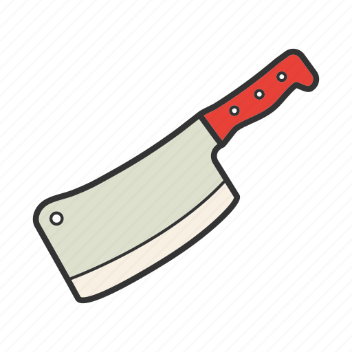 backsword, butcher, chopper, cleaver, kitchenware, knife icon