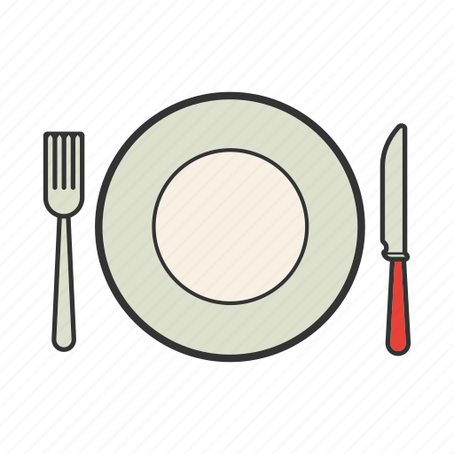 crockery, cutlery, dinnerware, dishware, tableware, utensil icon