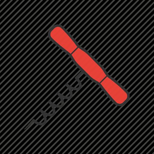 bottle, bottle-screw, corkscrew, opener icon