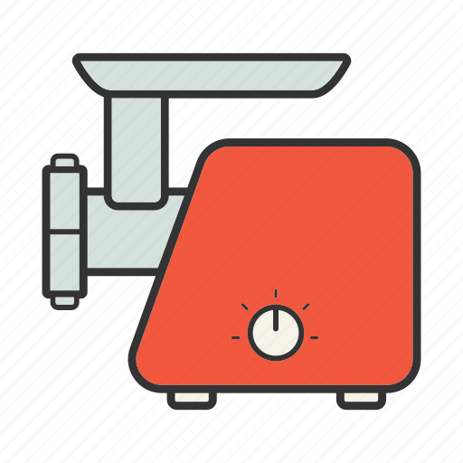 appliance, cookware, grinder, grinding, hasher, machine, mincer icon