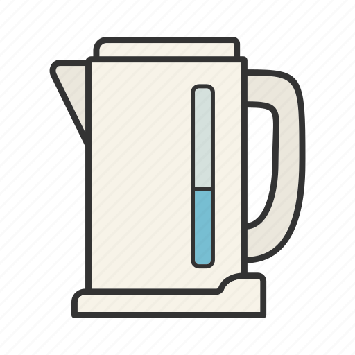 appliance, boiling, electric, kettle, kitchenware, teakettle, teapot icon