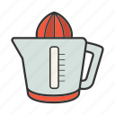 citrus, juice maker, juicer, kitchenware, squeezer icon