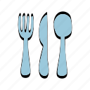 cook, cooking, eating, food, fork, kitchen icon