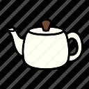 kettle, pot, tea, teapot