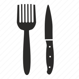 cook, fork, kitchen, knife icon